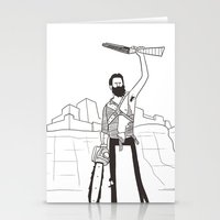 Hail to the Beard, baby Stationery Cards