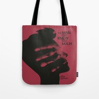 The Man who Knew Too Much - Alfred Hitchcock Movie Poster Minimal Tote Bag