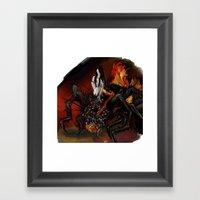 Chaos Sister Quelaag - D… Framed Art Print