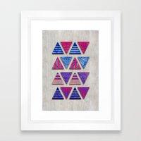 Triangular Composition #… Framed Art Print
