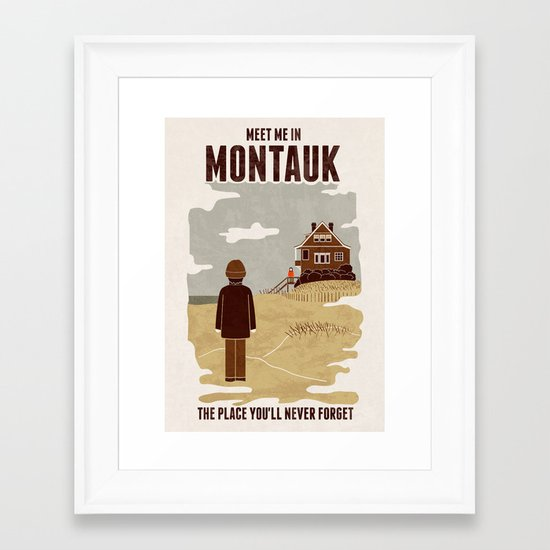 Montauk Framed Art Print