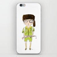 Moonrise Sam iPhone & iPod Skin