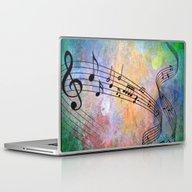 Abstract MUSIC Laptop & iPad Skin