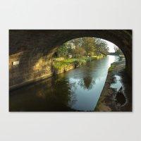 Rock Bridge Shadows  Canvas Print