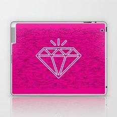 diamond magenta Laptop & iPad Skin
