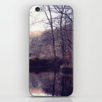 iPhone & iPod Skin featuring still water by Mary Carroll