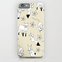 iPhone & iPod Case featuring Woodland Creatures - Natural by Hannah Stevens