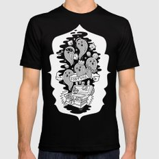 FORTUNA SMALL Mens Fitted Tee Black