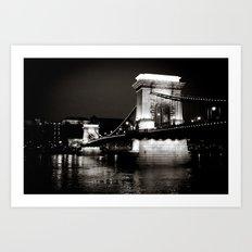 Budapest VI. Art Print