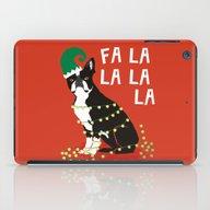 Boston Terrier Elf Chris… iPad Case
