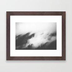 PNW Storm Framed Art Print