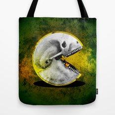 Skull Pacman Tote Bag