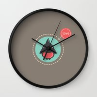 Love Bird Wall Clock