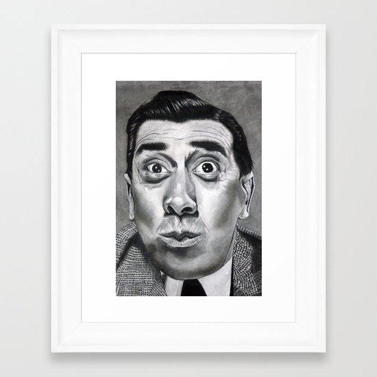 The Frenchman (Fernandel)  Framed Art Print