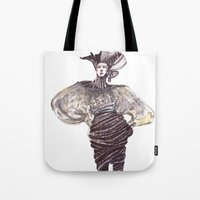 Fashion Sketches In Mixe… Tote Bag