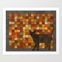 House Cat Art Print