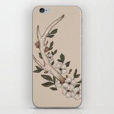 Floral Antler iPhone & iPod Skin