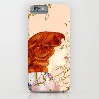 iPhone & iPod Case featuring I love Redheads by KarenHarveyCox