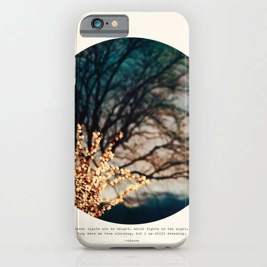 White Lights iPhone & iPod Case