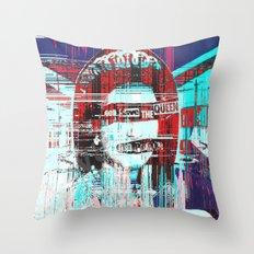 Gᴑᴆ ˢɐᵛᴇ ᴛħə ʠʊɵɵʌ Throw Pillow