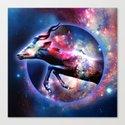 Galactic jump Canvas Print