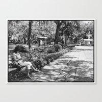 May in Savannah Canvas Print