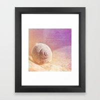 APRICOTÉE Framed Art Print