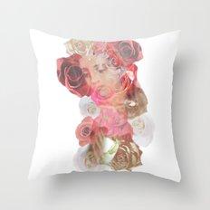 La Virgen de Guadalupe series: Las Rosas Throw Pillow
