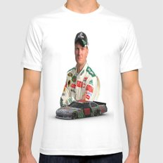 Dale Earnhardt Jr. 3ds Sprint Cup car #NASCAR Mens Fitted Tee White SMALL