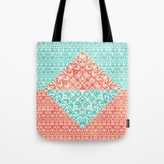 Retro Optical Fantasia Tote Bag