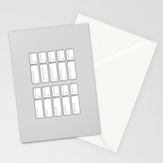 Ten Commands Stationery Cards