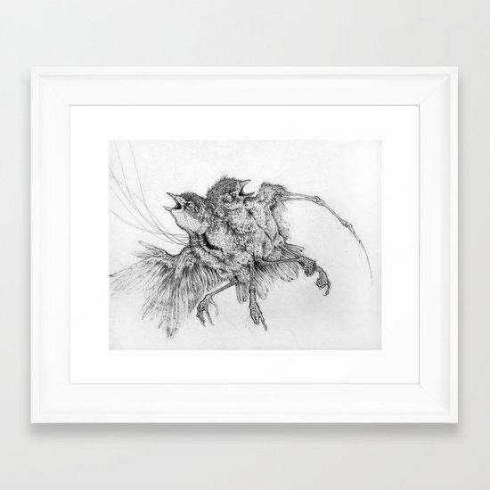Specimen Framed Art Print