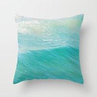 Lull. Beach Photograph. … Throw Pillow