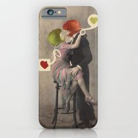iPhone & iPod Case featuring Loving Apple by Les Hameçons Cibles