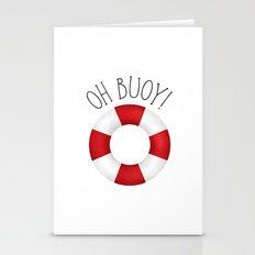 Oh Buoy! Stationery Cards