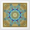Mix&Match Byzantine Mosaic 01 Art Print
