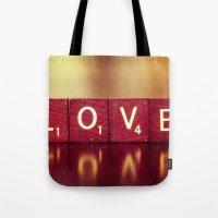Love is a Beautiful Word II Tote Bag