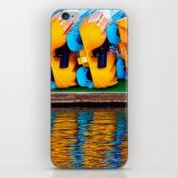 Paddle Boats iPhone & iPod Skin