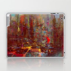 Abstract city Laptop & iPad Skin