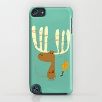 iPod Touch Cases featuring A moose ing by Budi Kwan