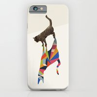 Walking Shadow, Cat iPhone 6 Slim Case