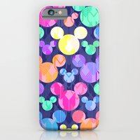 Mickey Mouse Bright Arrows iPhone 6 Slim Case