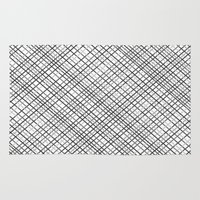 Weave 45 Black And White Rug