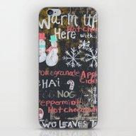 Egg Nog And Hot Chocolat… iPhone & iPod Skin