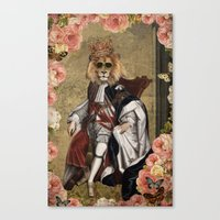 Animal Collection -- The… Canvas Print
