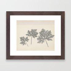 Painted Flower 2 Framed Art Print