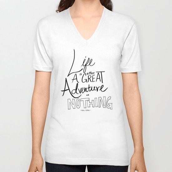 Great Adventure V-neck T-shirt