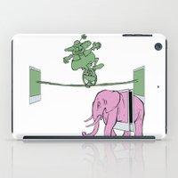 POLAROID SX70 CAMERA CIRCUS iPad Case