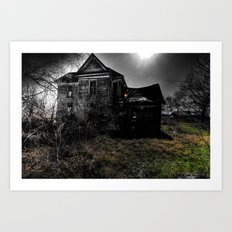 This Is Not My Home Art Print