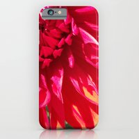 iPhone & iPod Case featuring Seeing Red by Allison Baskett